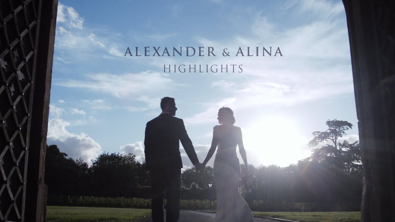 Alexander & Alina Wedding highlights. UK / Bristol. Thornbury Castle