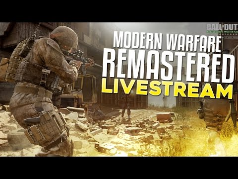 Modern Warfare Remastered LIVE! (Ranking Up For In Depth)