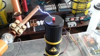 """High Voltage : HOMEMADE 120 kV DC Cockcroft Walton Multiplier """"Quick&Dirty"""" Direct Current"""