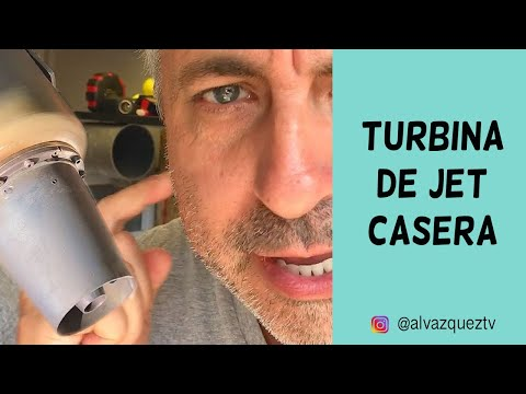 Turbina de Jet  Casera • Vlog 066