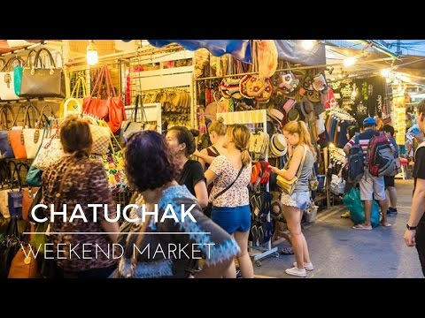 Travel To Chatuchak Weekend Market 👌The Cheapest Market In Bangkok 2017👌