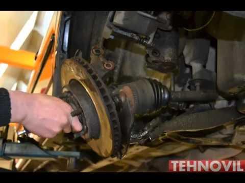 Замена переднего подшипника ступицы Toyota Corolla