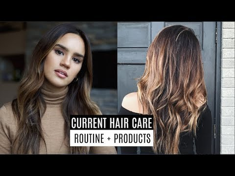 HAIR CARE ROUTINE FOR DAMAGED/DRY HAIR!  ...