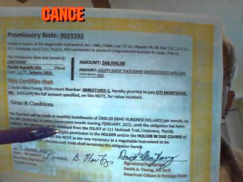 A Little Promissory Note Pays Mortgage in 14 days - YouTube