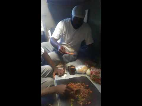 Prison Barbecue Chef: Convict Culinary Arts; Cooking On A Steel Bed