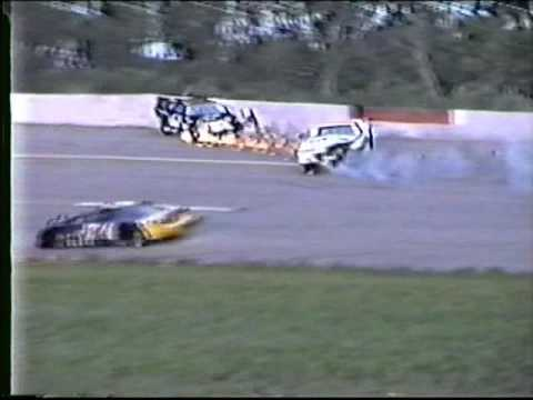 1995 Madison Int Speedway Super Late Model Crashes