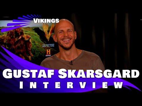 Gustaf Skarsgard    Vikings 2017  Season 5