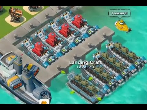 All Landing Craft Maxed Out Boom Beach Full Package