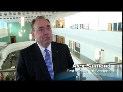 First Minister opens new Kirkwall school