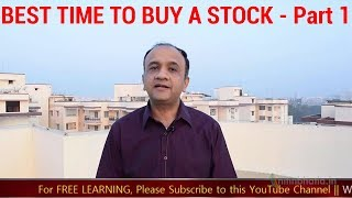 BEST time to BUY a Stock When the Market is UP - PART 1 | HINDI