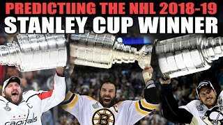 Predicting the NHL 2019 Stanley Cup Winner!