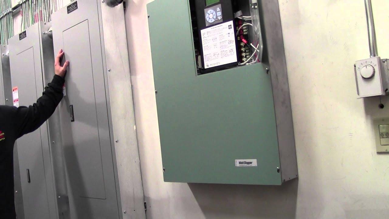 lighting control panel youtube hvac panel wiring lighting control panel