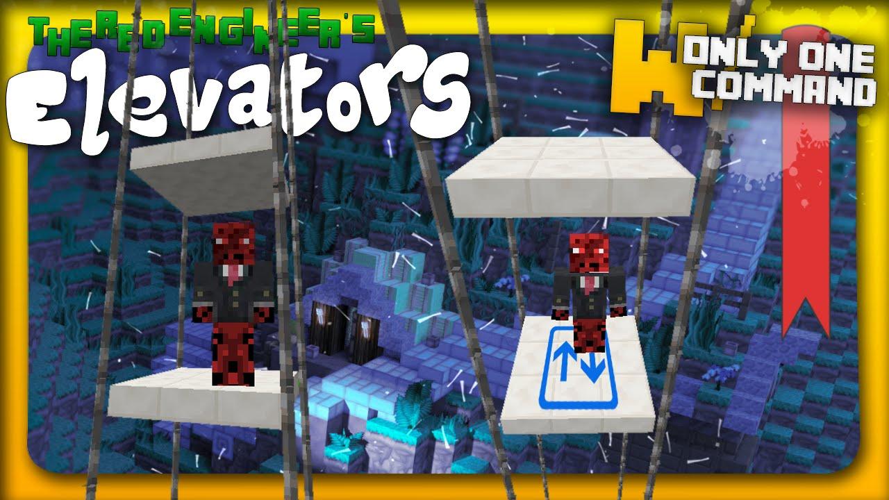 Minecraft - Customizable elevators in one command! (1.9 ...