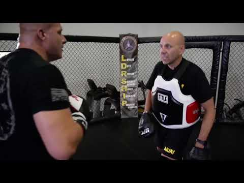 Mixed Martial Arts at Kieschnick Gym on Fort Hood