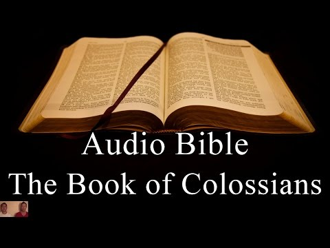 The Book of Colossians  - NIV Audio Holy Bible - High Quality and Best Speed - Book 51