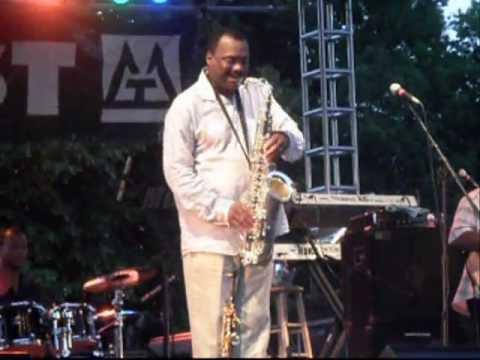 Ronnie Laws Mr Magic Live Syracuse Jazzfest