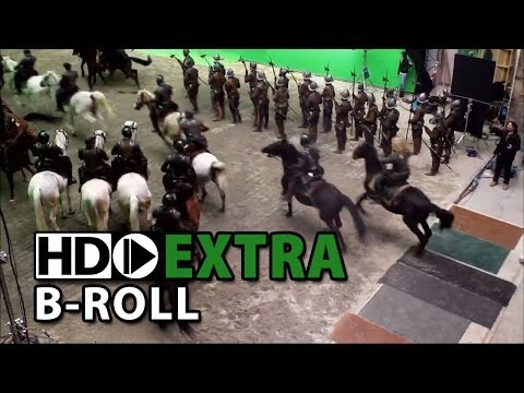 Anonymous (2011) Part2/4 - B-Roll, Making of & Behind the Scenes