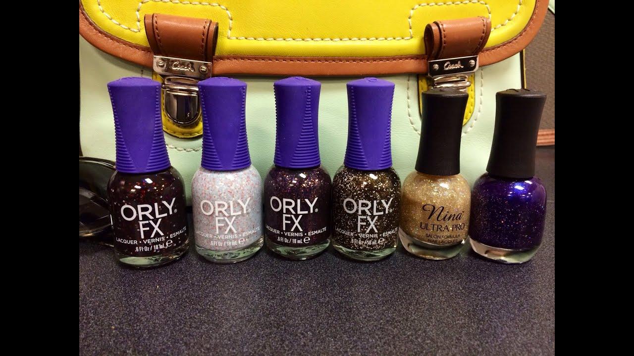 Sally Beauty Supply Nail Polish Haul! Orly Galaxy FX and Nina Ultra ...