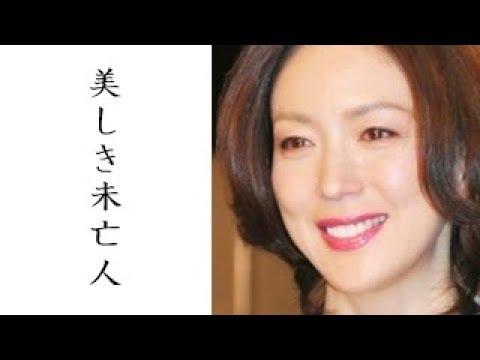 若村麻由美の僧侶の夫と子供、遺産は?! 渡辺謙との噂は本当だったのか?