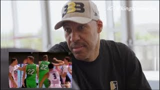 LaVar Ball Apologizes For LaMelo Ball Smacking Mindaugas Susinskas In JBA Game In Lithuania
