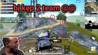 PUBG Mobile - Tình Huống Giải Vây 2 Team Để Cứu Đồng Đội | Clear Team Cuối Cực Ngầu :v
