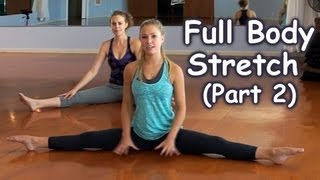 Full Body Stretches, How to Stretch for Beginners, Part 2: Lower Body, Home Workout Follow Along