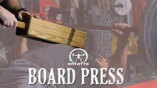 Elitefts.com - 1,2,3,4 Board Press