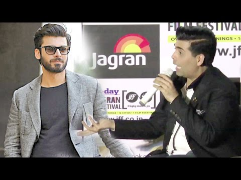 Karan Johar Warns Reporters Not To Ask About Fawad Khan & Ban On Ae Dil Hain Mushhkil