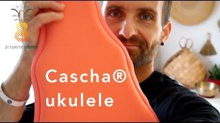Cascha® koncertowe ukulele z włókna węglowego - próbka brzmienia