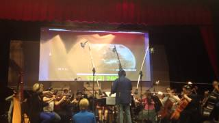 Emily Bear Orchestrated Film Scoring Performing, age 11  (HD)