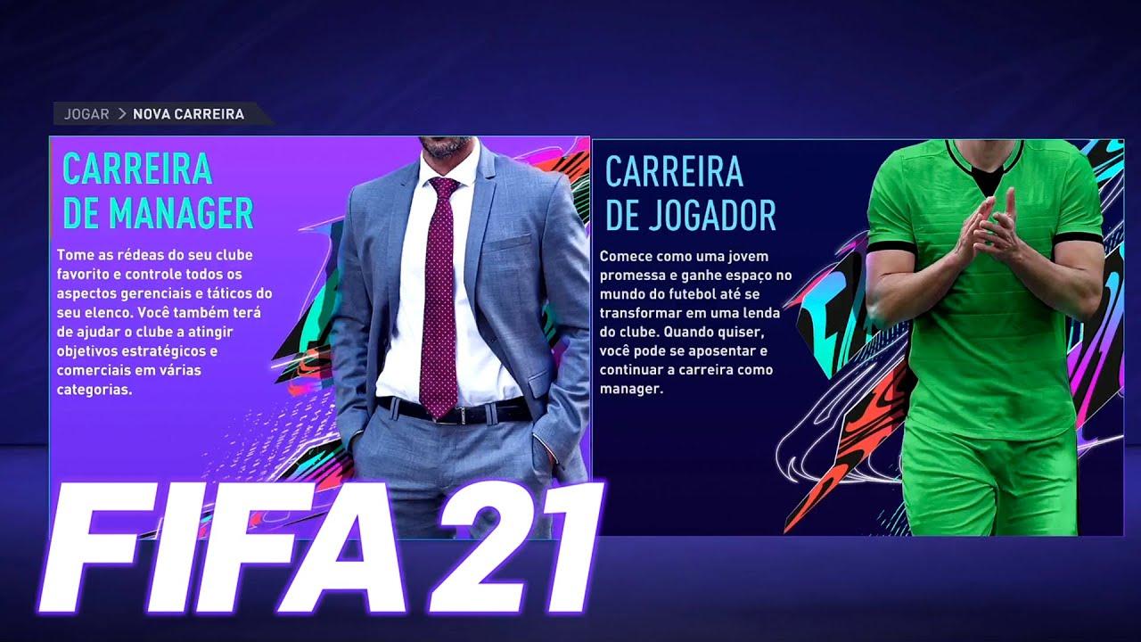 FIFA 21 - O COMEÇO!!! Modo Carreira Treinador no NEWCASTLE!!! #01