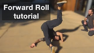Forward Roll Tutorial - Rolling for dance, parkour, martial arts, & more...