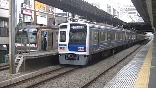 西武鉄道6106F F快急元町・中華街行24M ひばりヶ丘到着