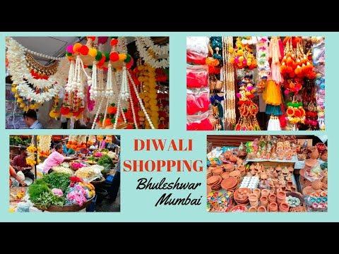Diwali Shopping | Bhuleshwar Market Mumbai