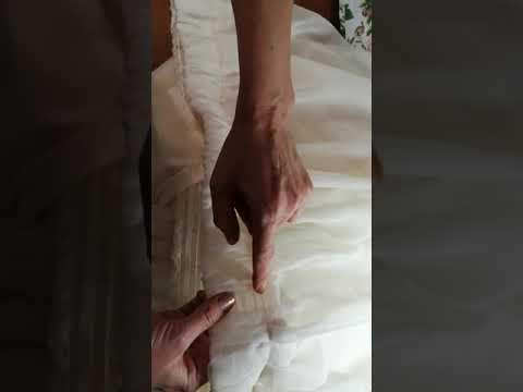 Как самой красиво подшить тюль и пришить тесьму с петлями