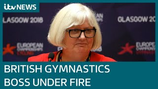 British Gymnastics CEO Jane Allen 'fostered culture of fear', former manager claims | ITV News