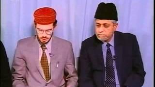 Rencontre Avec Les Francophones 4 mai 1998 Question Réponse Islam Ahmadiyya