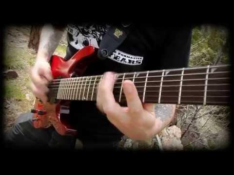 Allegaeon Dyson Sphere Guitar Play Through Greg