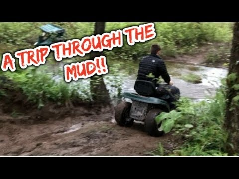 A Trip Through The Mud & Water With A Yard Machines & Craftsman Lawn Mower!