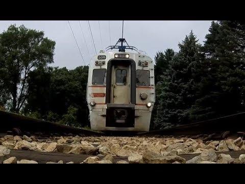FAST South Shore Train Runs Over GoPro!