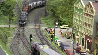 Ho Scale Model Trains & Locomotives in action - Norway -
