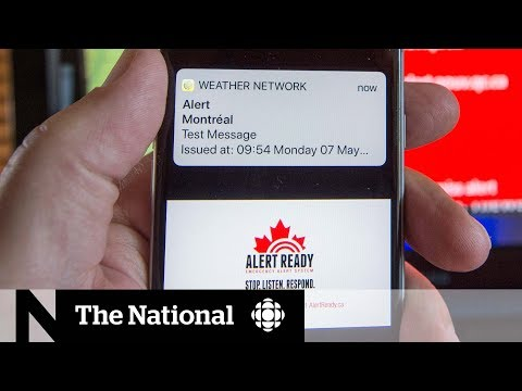 Emergency Alert Test Fails In Ontario And Quebec
