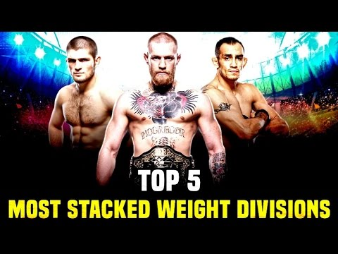 5 Most Stacked Weight Divisions In The UFC 2017