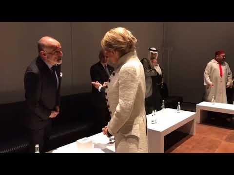 Inauguration du Louvre Abou Dhabi en présence du Roi Mohammed VI