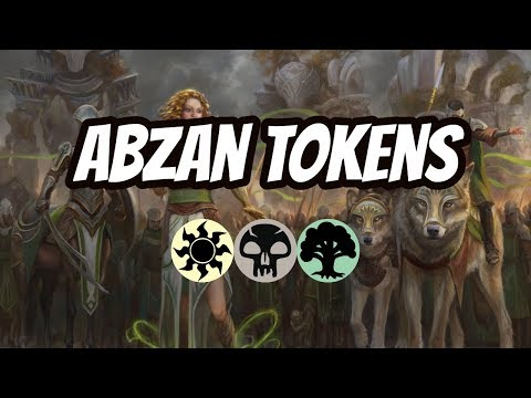 Abzan Tokens - Corpse Knight + March Of The Multitudes - MTG Arena