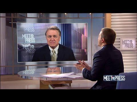 Full Perdue: 'There's no rush here' on Kavanaugh hearings   Meet The Press   NBC News
