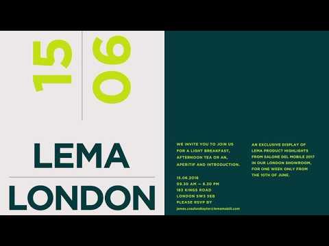 Lema | Londra nuova collezione 2017  /  Lema | London new 2017 collection