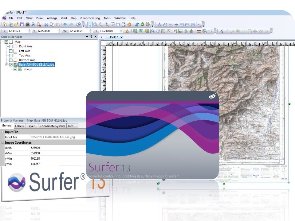 Can i download dem or elevation data from within surfer? – golden.