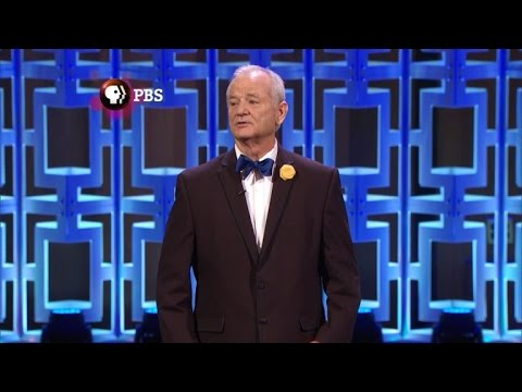 Bill Murray Gets Uncomfortable While Being Honored with Mark Twain Award
