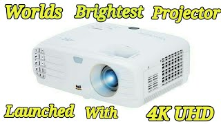 World's brightest 4K UHD projector launched